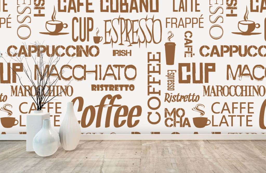 Andere - Kaffee Wörter - Küchen 7