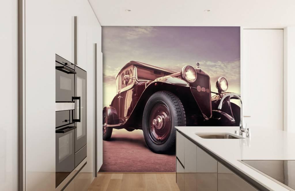 Verkehrsmittel tapete - Oldtimer-Perspektive - Jugendzimmer 4
