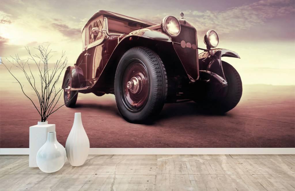 Verkehrsmittel tapete - Oldtimer-Perspektive - Jugendzimmer 8