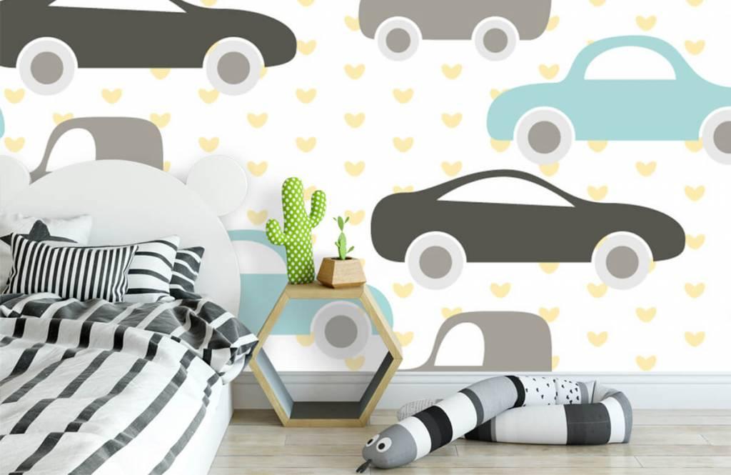 Baby Tapete - Spielzeugautos - Babyzimmer 1