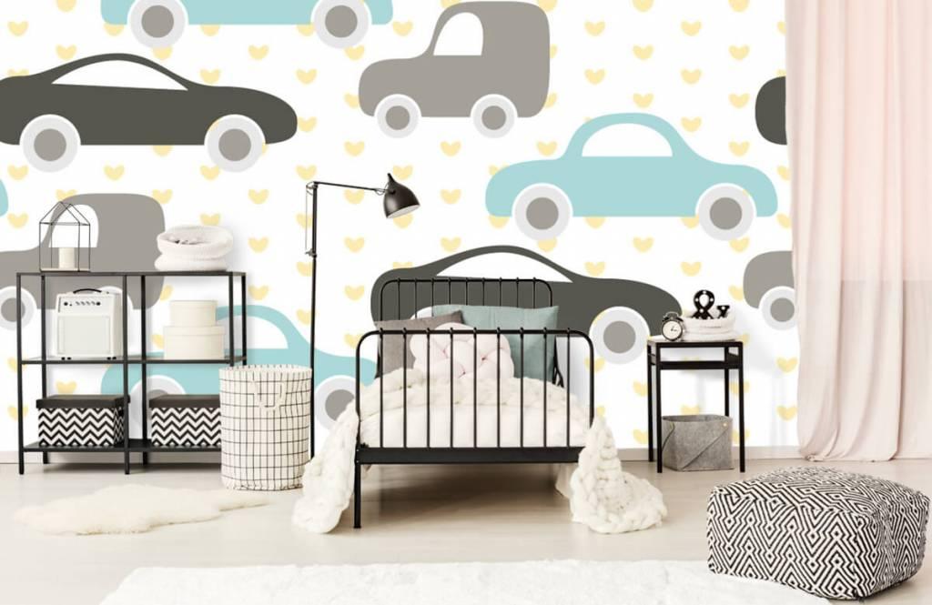 Baby Tapete - Spielzeugautos - Babyzimmer 2