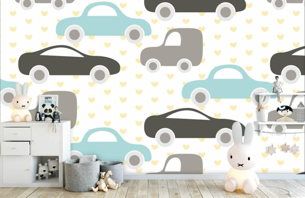 Baby Tapete - Spielzeugautos - Babyzimmer 4