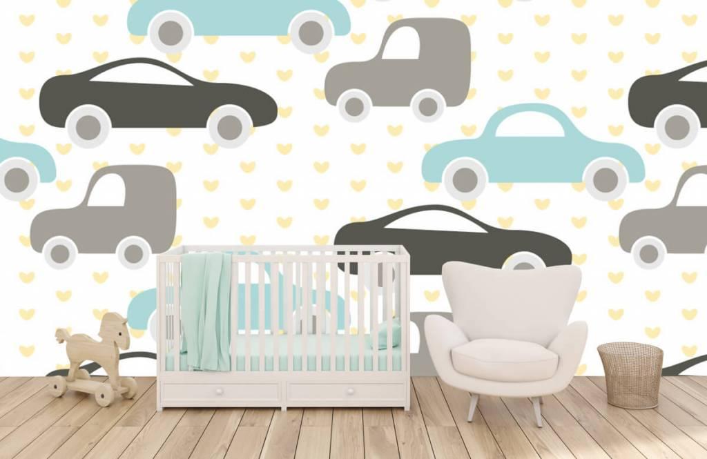 Baby Tapete - Spielzeugautos - Babyzimmer 5