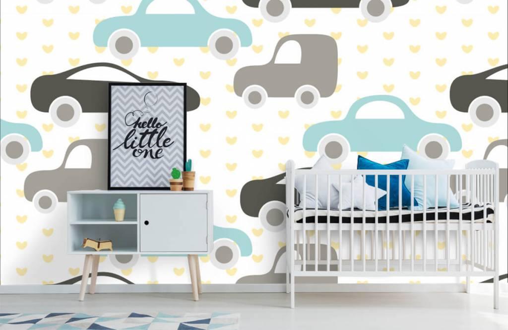 Baby Tapete - Spielzeugautos - Babyzimmer 6