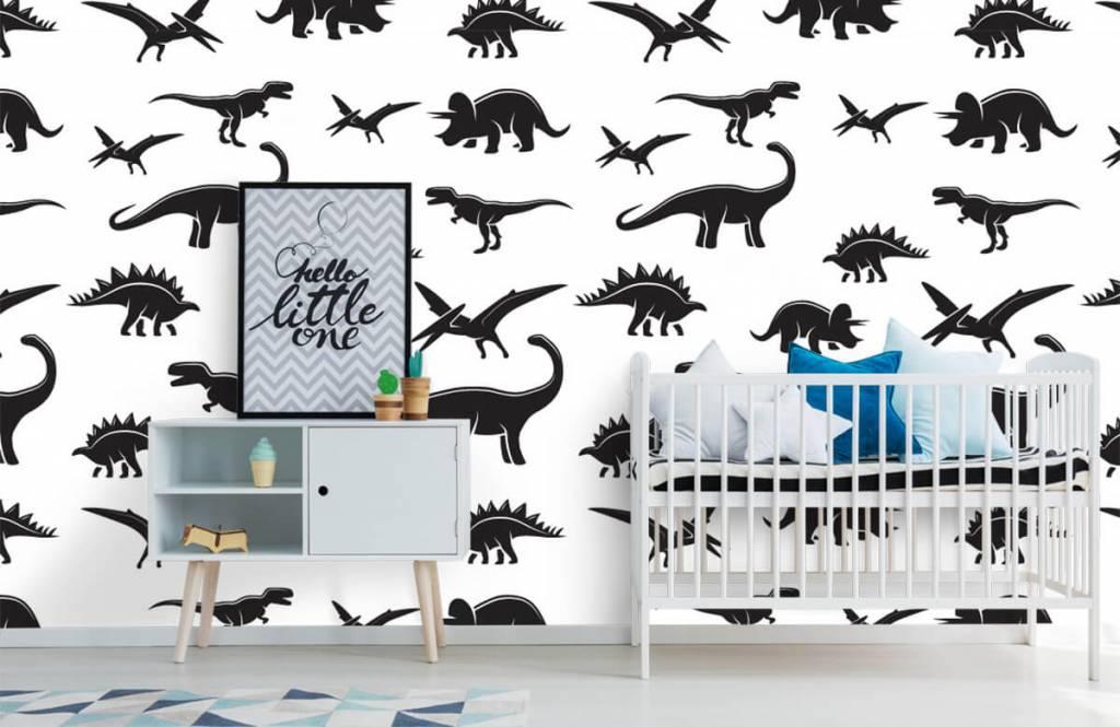 Dinosaurier - Dino's - Kinderzimmer 1