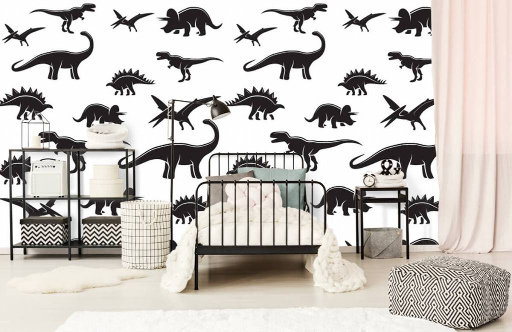 Dinosaurier - Dino's - Kinderzimmer 2