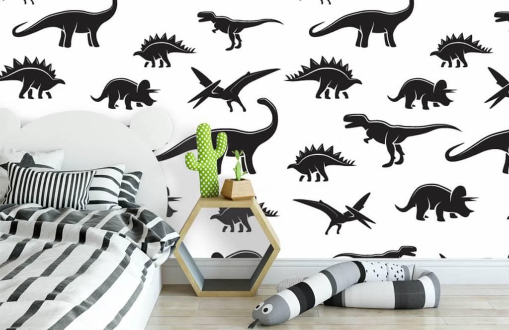 Dinosaurier - Dino's - Kinderzimmer 3