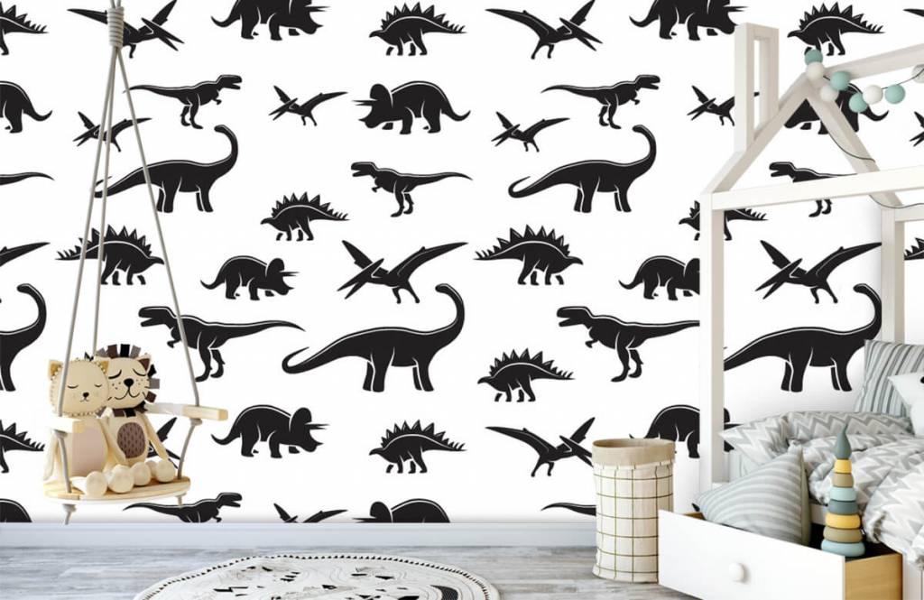 Dinosaurier - Dino's - Kinderzimmer 4