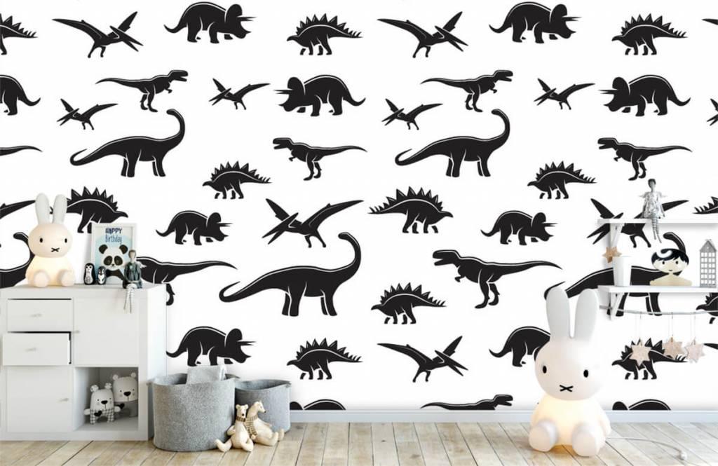 Dinosaurier - Dino's - Kinderzimmer 5