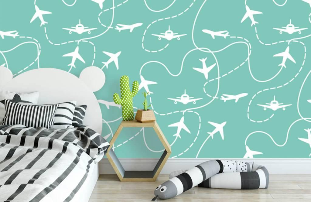 Andere - Flugzeuge und Linien - Kinderzimmer 3
