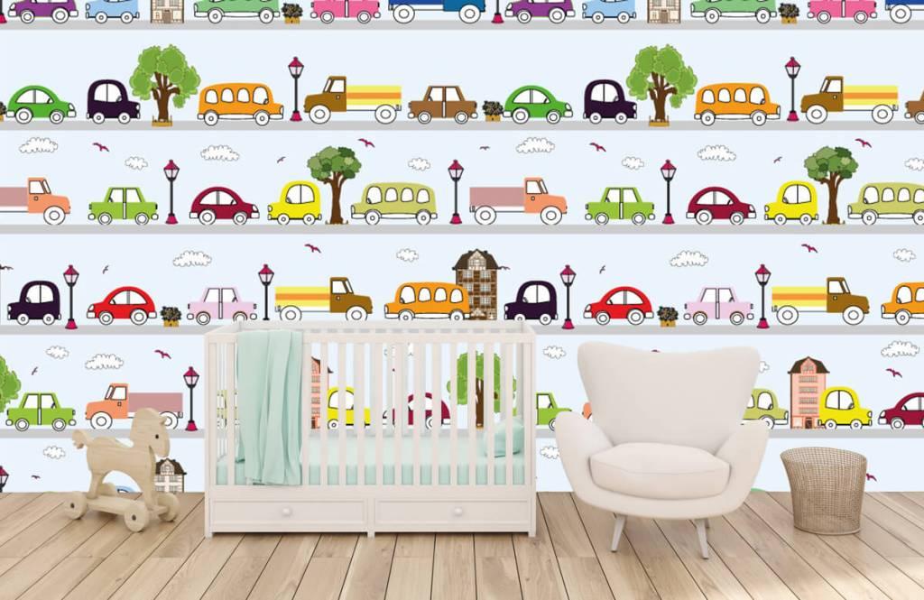 Baby Tapete - Fahrzeuge - Babyzimmer 1