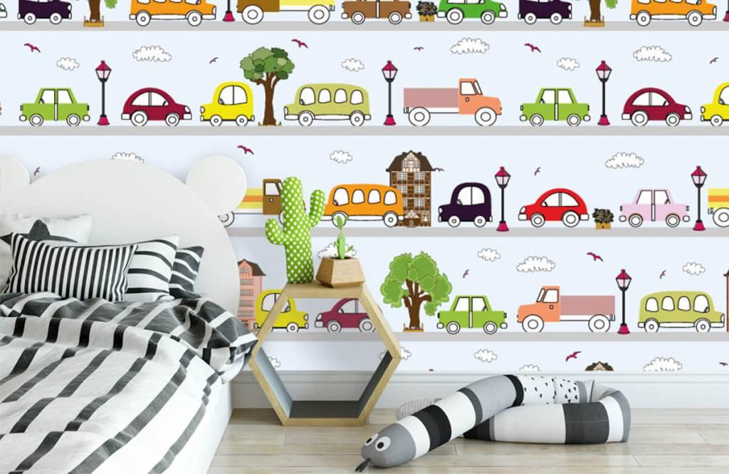 Baby Tapete - Fahrzeuge - Babyzimmer 4