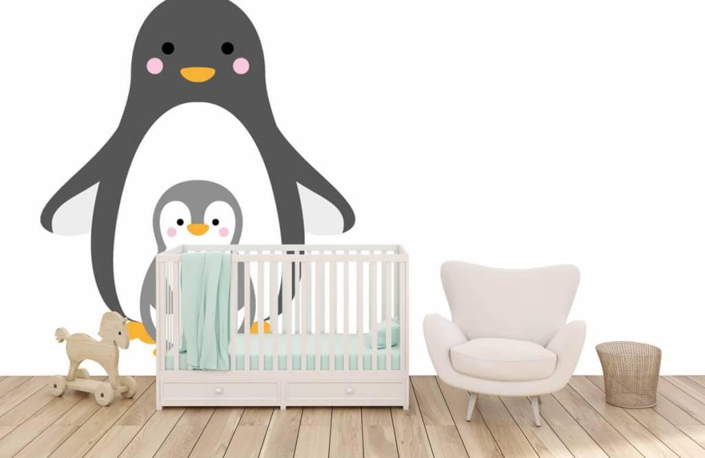 Andere - Fröhliche Pinguine - Kinderzimmer 1