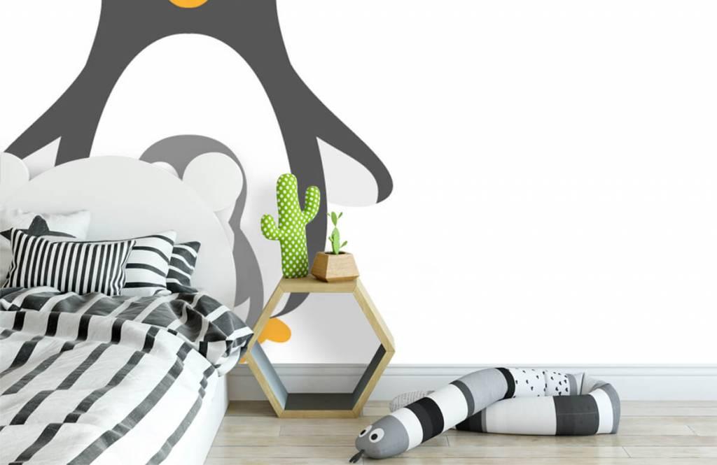 Andere - Fröhliche Pinguine - Kinderzimmer 3