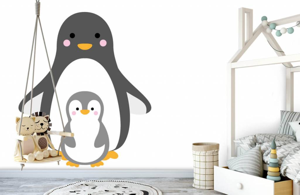 Andere - Fröhliche Pinguine - Kinderzimmer 4