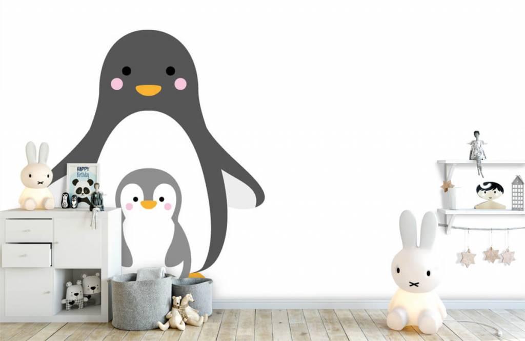 Andere - Fröhliche Pinguine - Kinderzimmer 5