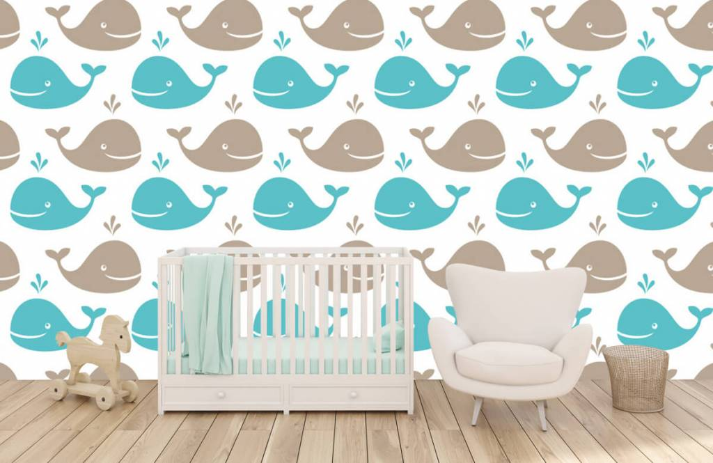 Wassertiere - Wale - Kinderzimmer 1