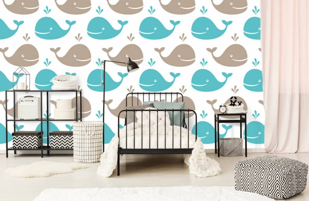 Wassertiere - Wale - Kinderzimmer 2
