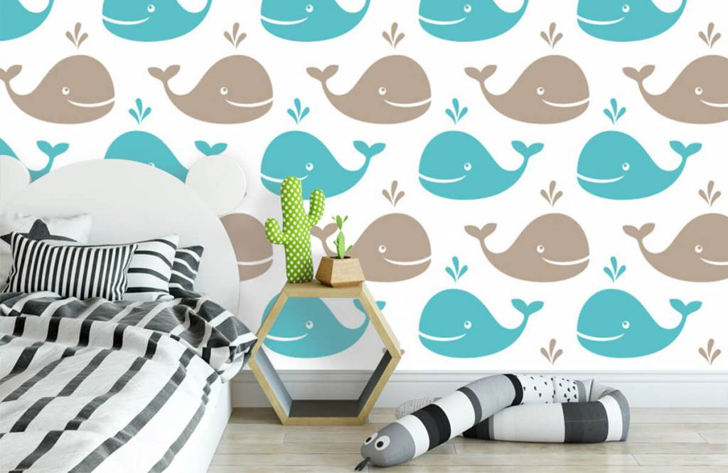 Wassertiere - Wale - Kinderzimmer 3