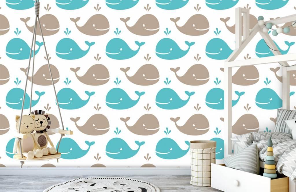 Wassertiere - Wale - Kinderzimmer 4