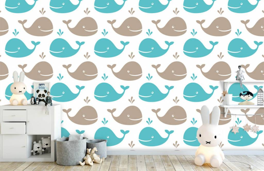 Wassertiere - Wale - Kinderzimmer 5