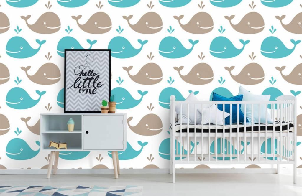 Wassertiere - Wale - Kinderzimmer 6