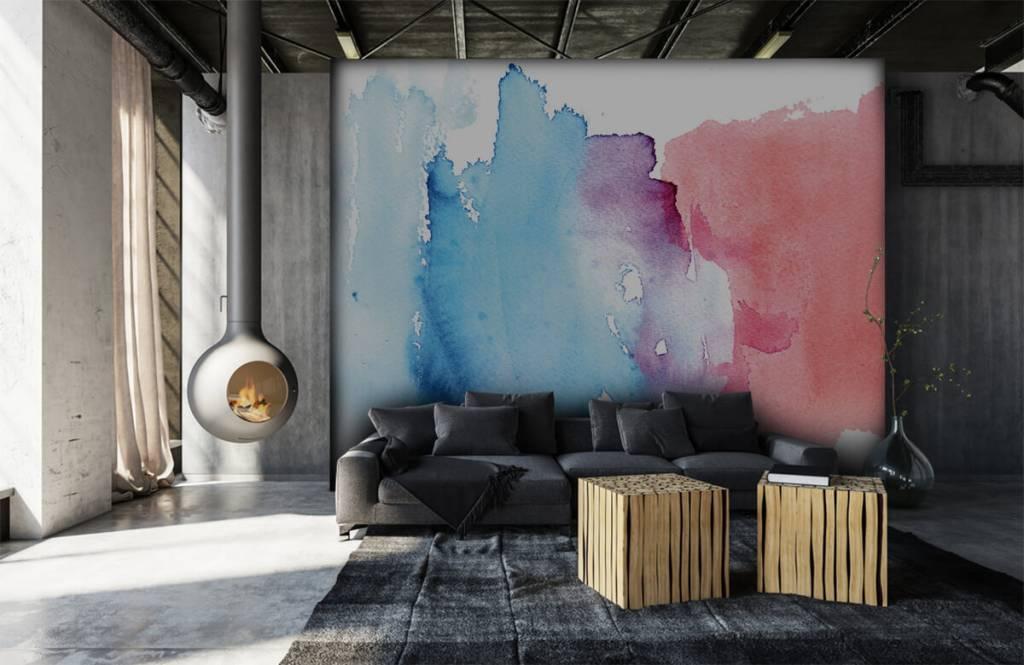 Abstrakte Tapete - Abstrakte Wasserfarbe - Eingang 7