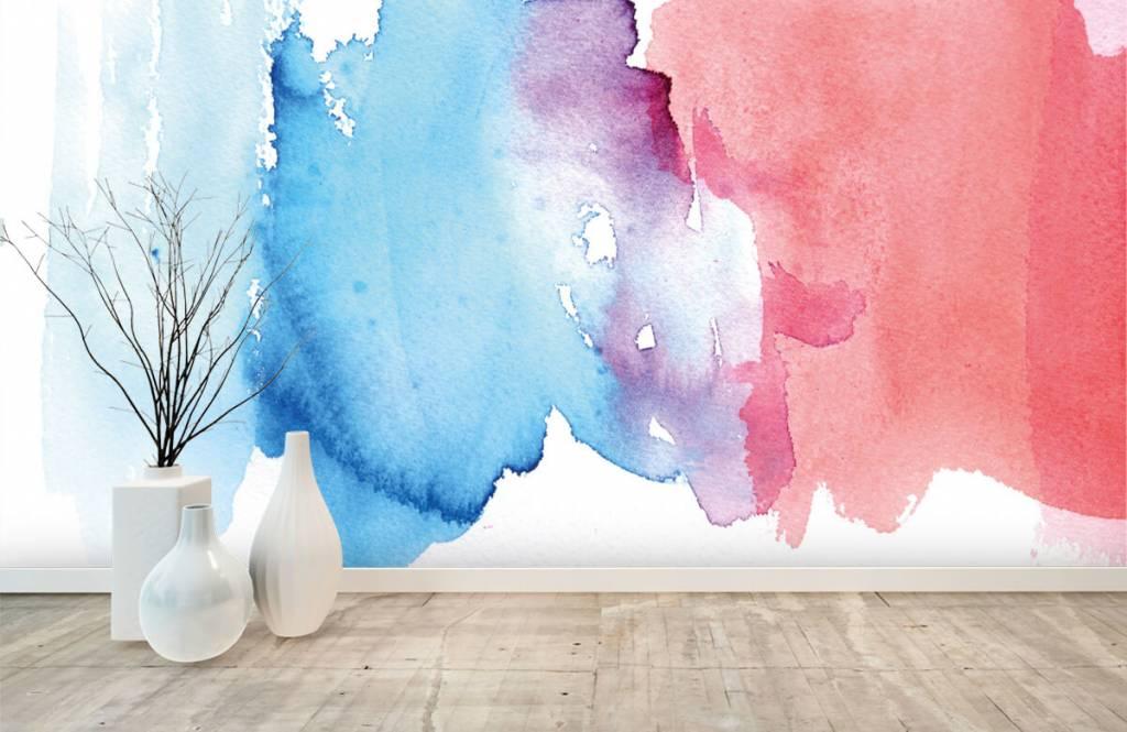 Abstrakte Tapete - Abstrakte Wasserfarbe - Eingang 8