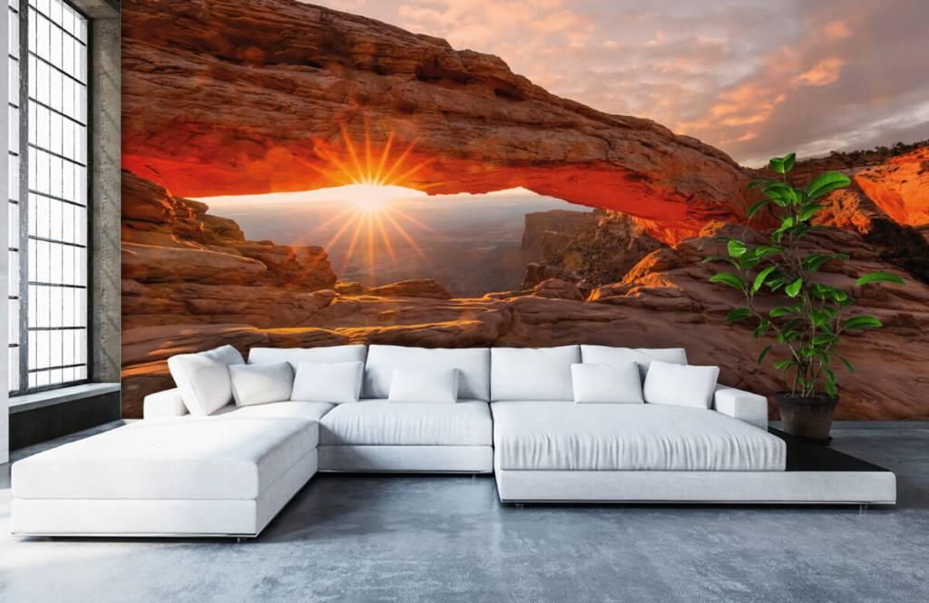 Bergen - Sonnenuntergang zwischen Felsen - Schlafzimmer 5