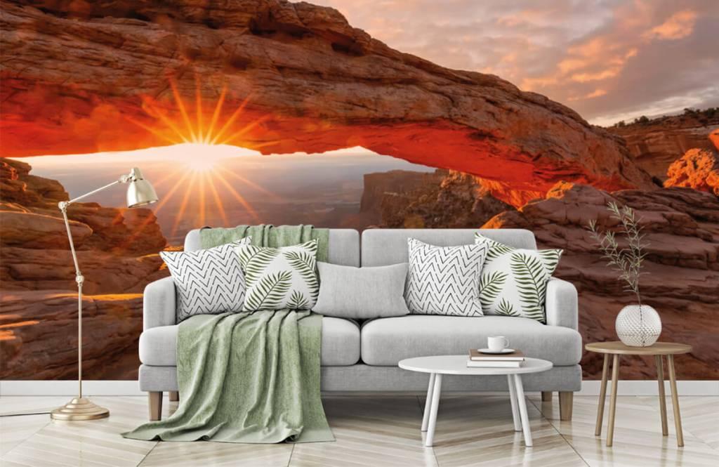 Bergen - Sonnenuntergang zwischen Felsen - Schlafzimmer 7