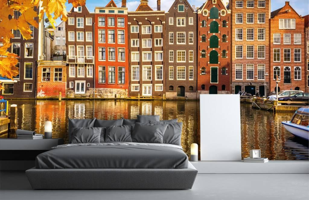 Städte - Tapete - Amsterdam - Schlafzimmer 2