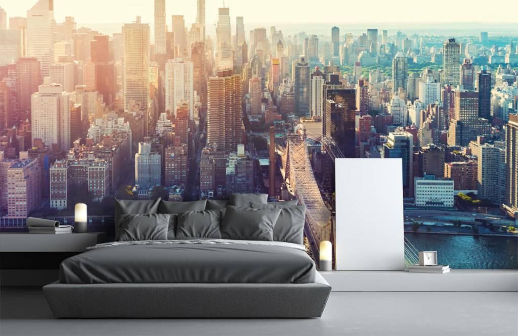 Retro Tapete - New York City - Jugendzimmer 3