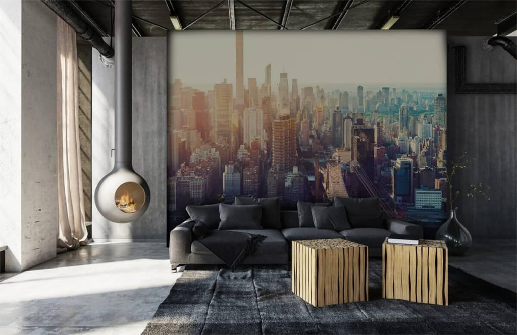 Retro Tapete - New York City - Jugendzimmer 6