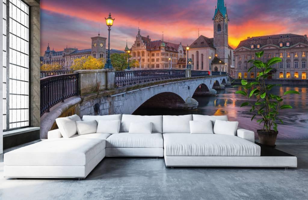 Städte - Tapete - Zürich - Schlafzimmer 1