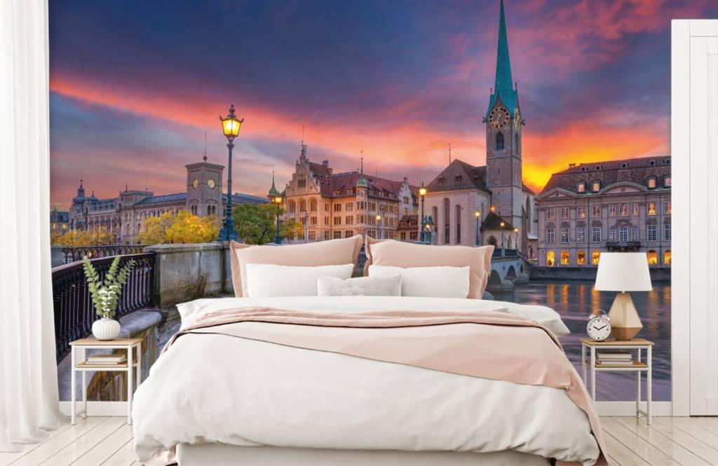 Städte - Tapete - Zürich - Schlafzimmer 2