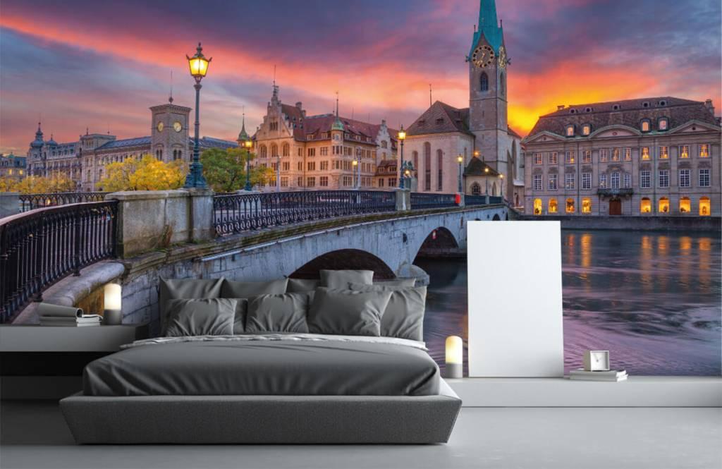 Städte - Tapete - Zürich - Schlafzimmer 3
