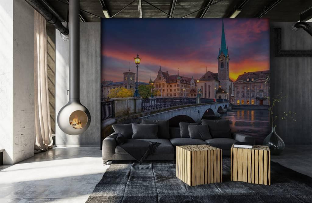 Städte - Tapete - Zürich - Schlafzimmer 6