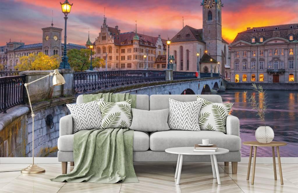 Städte - Tapete - Zürich - Schlafzimmer 7
