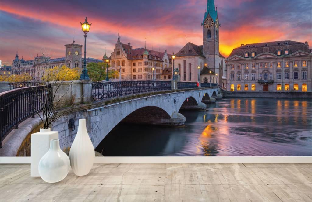 Städte - Tapete - Zürich - Schlafzimmer 8