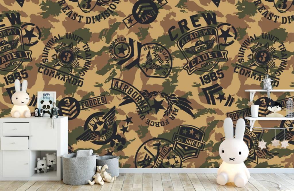 Andere - Tarnfarben mit Logos - Kinderzimmer 4