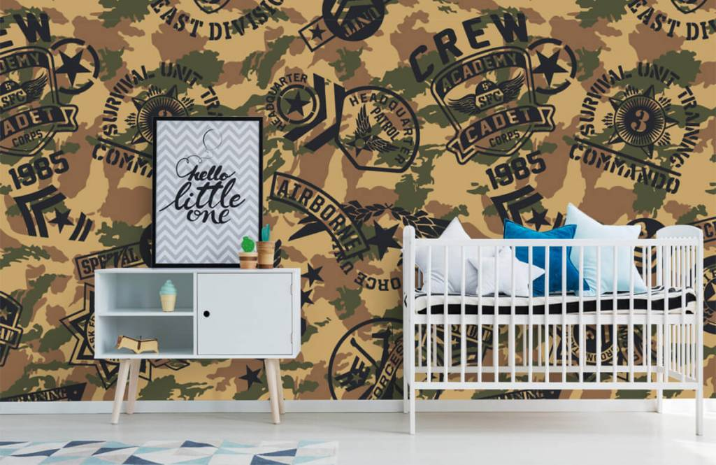 Andere - Tarnfarben mit Logos - Kinderzimmer 6