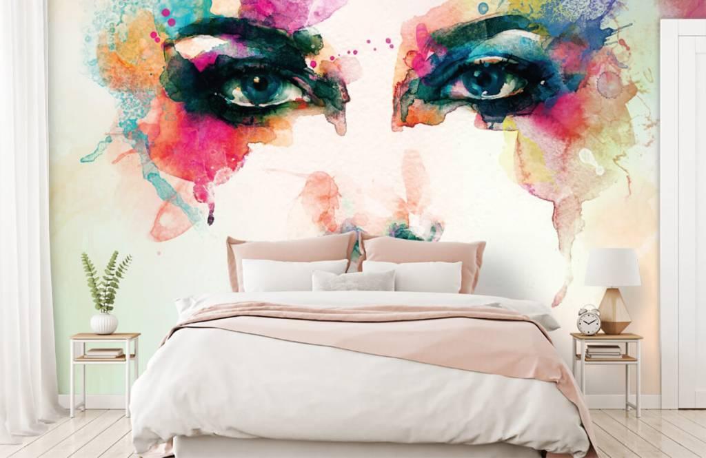Portetten und Gesichter - Abstrakter Kopf - Wohnzimmer 6