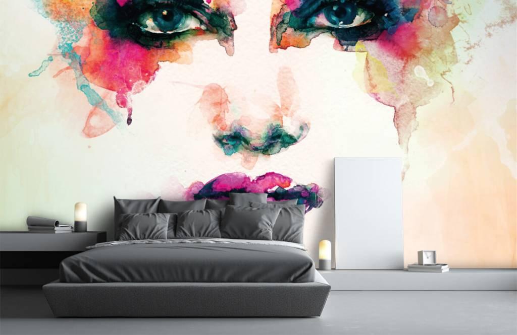 Portetten und Gesichter - Abstrakter Kopf - Wohnzimmer 7