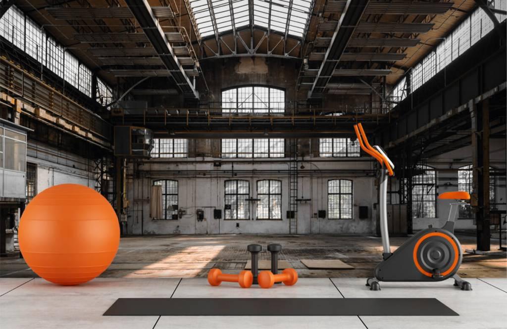 Gebäude - Verlassene Industriehalle - Schlafzimmer 8