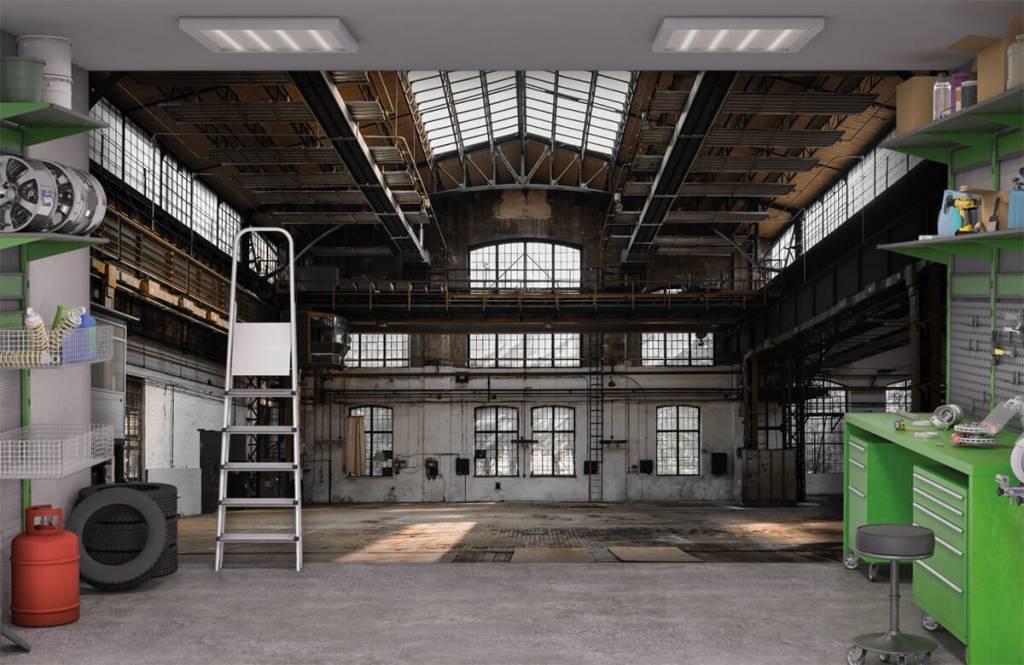 Gebäude - Verlassene Industriehalle - Schlafzimmer 9