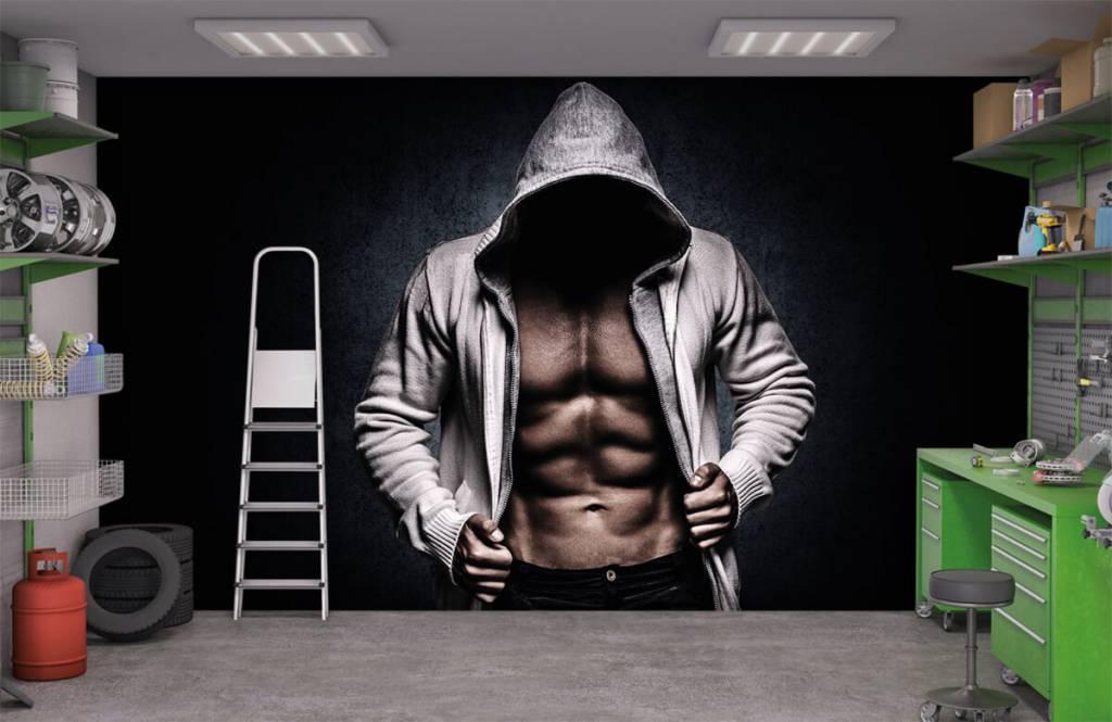 Fitness - Muskulöser Mann - Hobbyzimmer 4