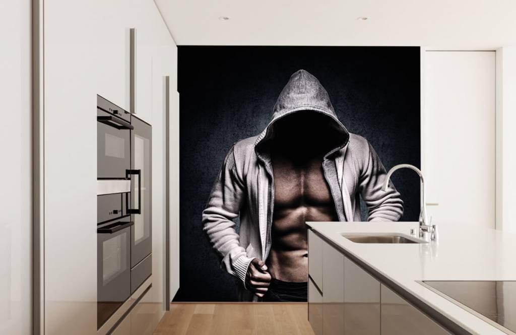 Fitness - Muskulöser Mann - Hobbyzimmer 6