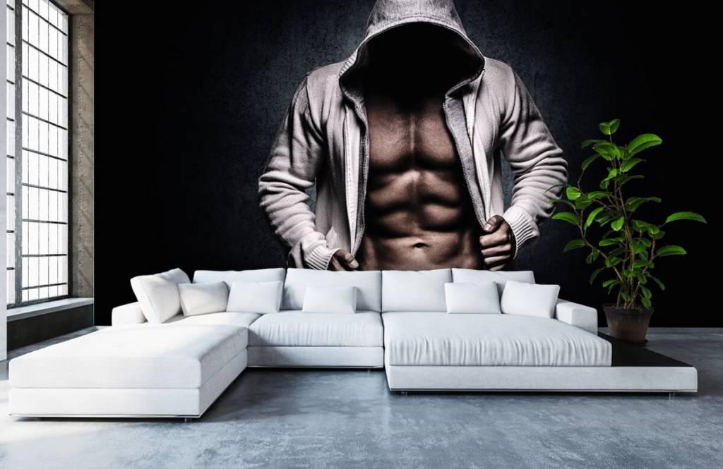 Fitness - Muskulöser Mann - Hobbyzimmer 7