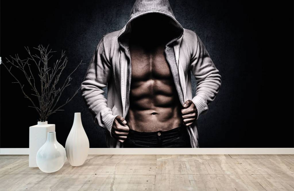 Fitness - Muskulöser Mann - Hobbyzimmer 9