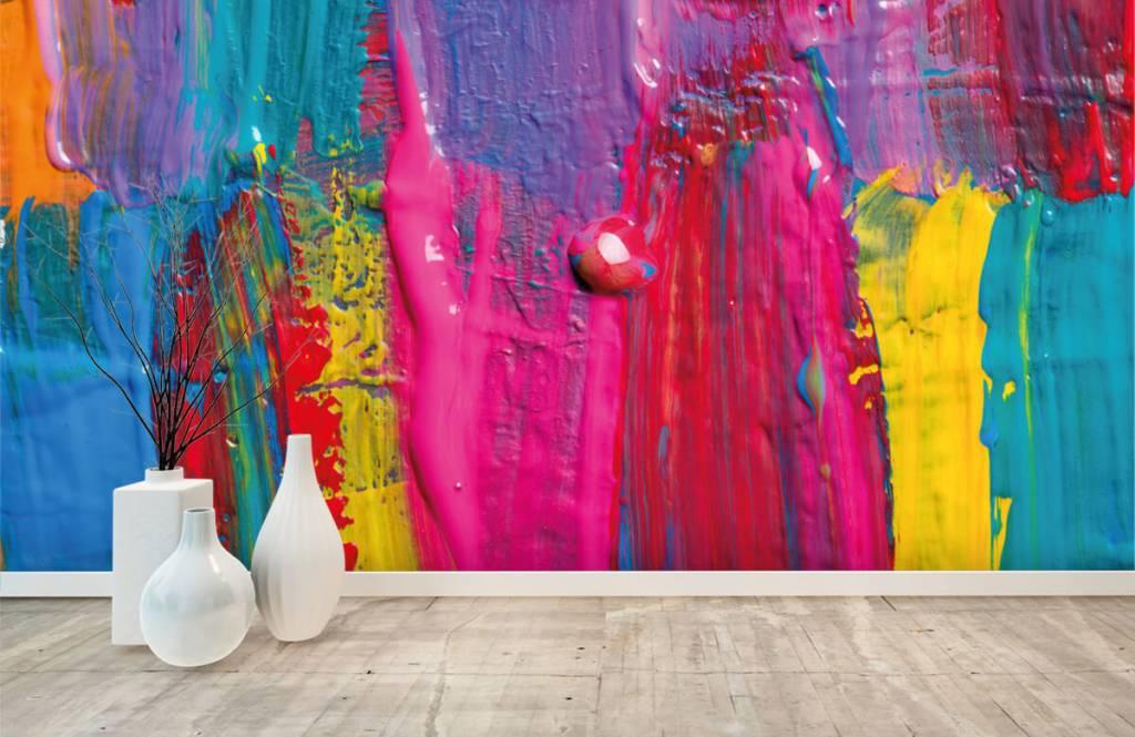 Moderne Tapete - Farbe - Tagungsraum 1